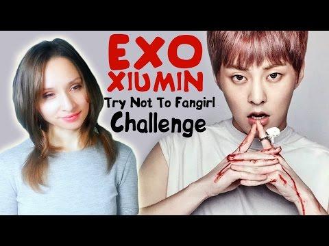 EXO XIUMIN TRY NOT TO FANGIRL CHALLENGE   ARI RANG