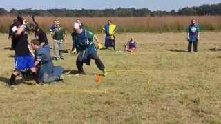 ferrum crux vs Temple of the Vanguard jugging keep amtgard 2014