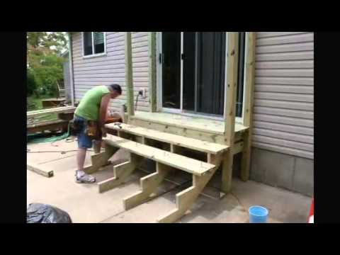 Back Porch Steps Time Lapse Youtube