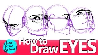 HOW TO PLACE THE EYES CORRECTLY WHEN DRAWING A FACE thumbnail