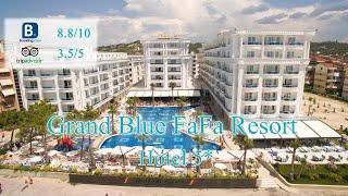 Grand Blue FaFa Resort 5* | Албания, Голем | Обзор отеля