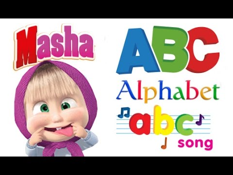 ABC Song 60 Min Loop -  For Memorize - Learn english Alphabet with Masha