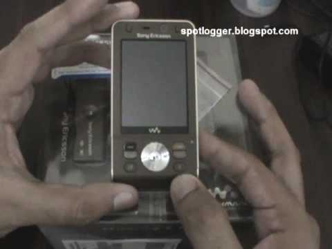 Sony Ericsson W910i Unboxing and Hands-on