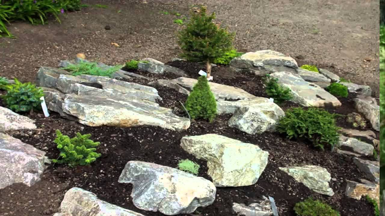 Garden Ideas Building Rock Garden Ideas Youtube