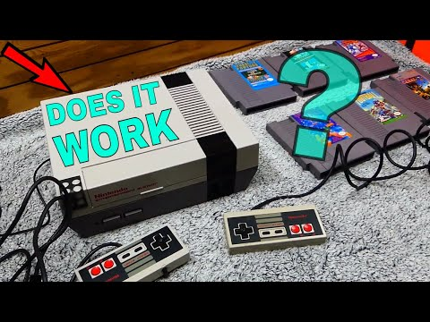 Does The NES That I FOUND In The Dumpster WORK Or Is It BROKEN?!?