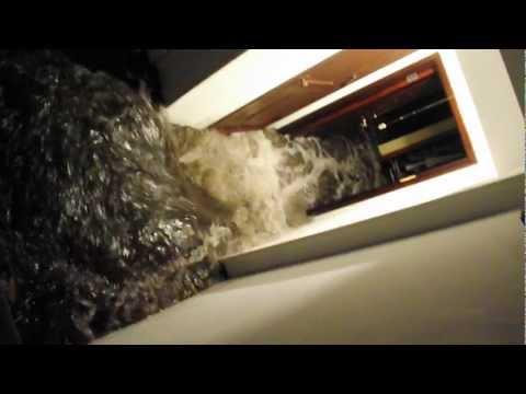 Flood in my building during Hurricane Sandy! (New Dorp, Staten Island)