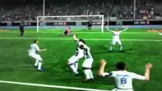 FIFA 11 UT Andy Carroll Over-Head Kick