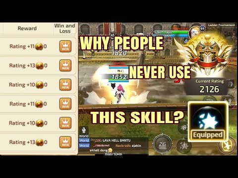 Experiment Sorceress (Force User) on Ladder PVP - Dragon Nest M SEA