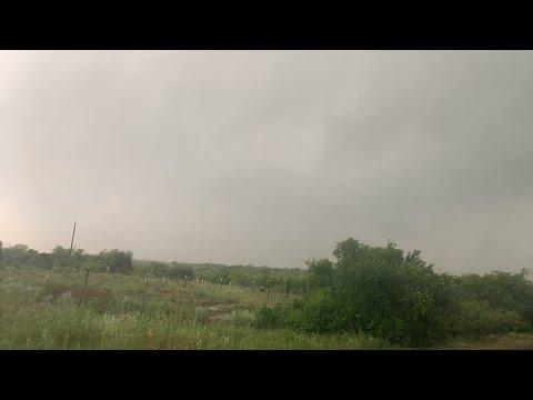 Tracking Tornado Warned Storm Near Hollis OK.