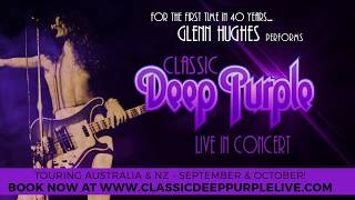 Glenn Hughes Promotional video for NZ/ Australian Tour Sept 2017