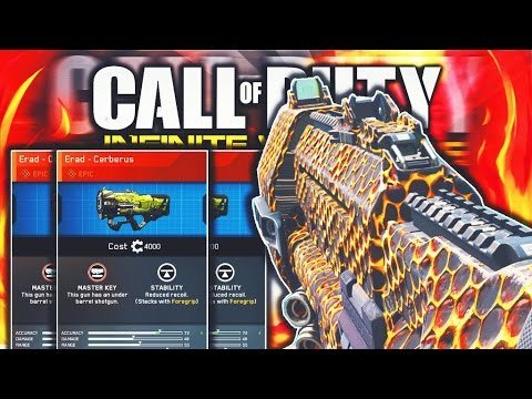 "NEW INFINITE WARFARE EPIC ""ERAD - CERBERUS"" - BEST EPIC ERAD CLASS SETUP! (COD IW EPIC WEAPONS)"