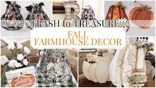 FALL DECOR 2019 | TRASH to TREASURE  | FARMHOUSE FALL DECOR
