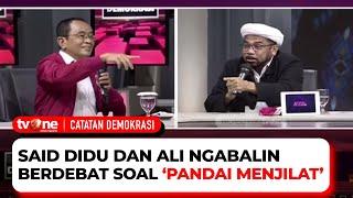 Ali Ngabalin ke Said Didu: Pernyataan Anda Menyesatkan Rakyat Indonesia!   Catatan Demokrasi tvOne