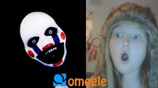 Repeat youtube video Five Nights at Freddy's - Marionette goes on Omegle!