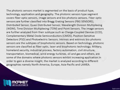 PHOTONIC SENSORS Market is Booming. Watch Out Latest Trends and Issues!