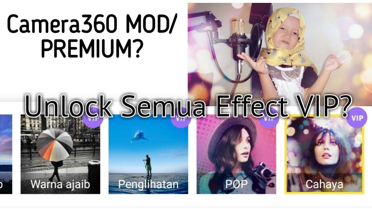 Cara Menggunakan Effect VIP Camera360 Lite di Android MOD APK