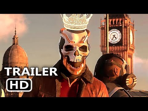 Play WATCH DOGS 3 LEGION Officiail Trailer (2019) E3 2019 Game HD