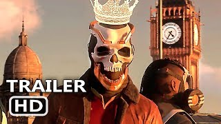 WATCH DOGS 3 LEGION Officiail Trailer (2019) E3 2019 Game HD