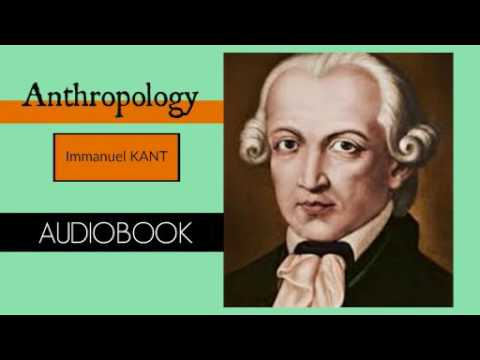 Anthropology by Immanuel Kant - Audiobook