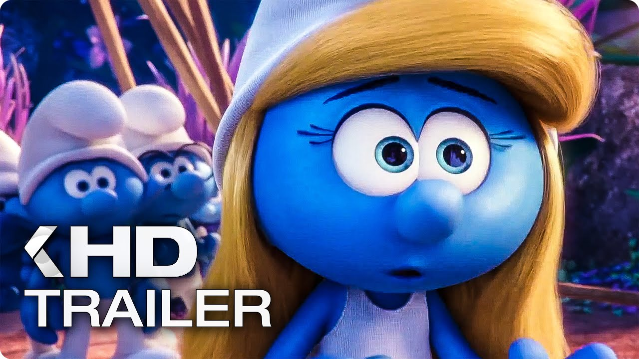 Cartoon Characters 3 Apples High : Smurfs the lost village trailer youtube