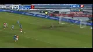 FOOOOTBALL - Зенит - Спартак 2-3 (Все голы)
