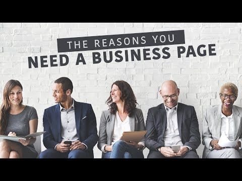 Why You Should Have A Facebook Business Page