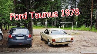 Pastki 1978 Ford Taunus Ta'mirlash, tozalash, ahvoli.