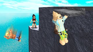 Climb The TALLEST Roblox Cliff For 1 MILLION Robux.. (Roblox)