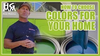 How To Choose Exterior Colors For Your House