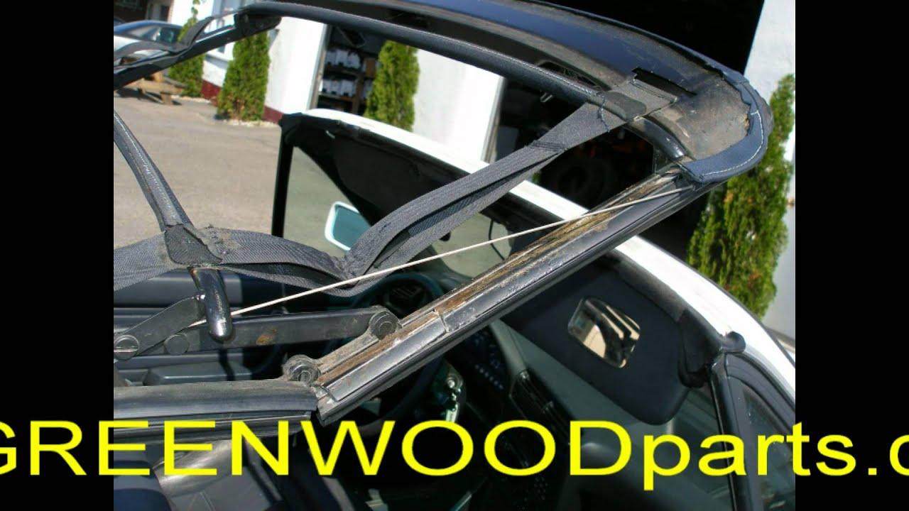 BMW GREENWOODpartscom  Convertible top install 318 e30