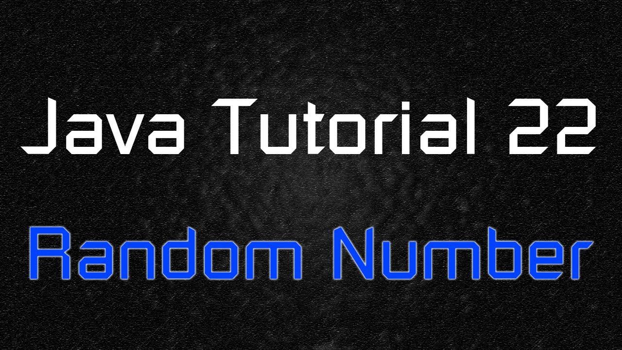 Java Tutorial 22 - Math.random Lottery Game (Random Number
