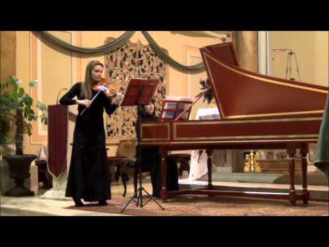 A. Corelli, Sonata op. 5 n. 8 - Giulia Sardi, violino, Emanuela Cagno, clavicembalo