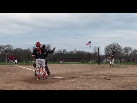 Western international high school vs Dearborn high baseball
