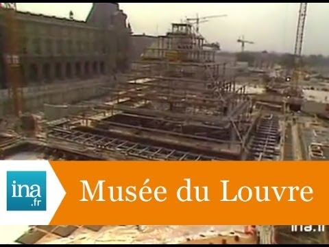 Le myst re de la pyramide du louvre archive ina youtube - Construction pyramide du louvre ...