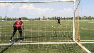 Soccer Goalkeeper Training - How to dive