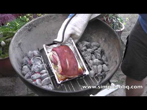 How to BBQ belly pork