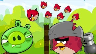 Angry Birds Collection 1 - MAD MODE OVERDRIVE SHOOT 100 BIRDS TO BA...