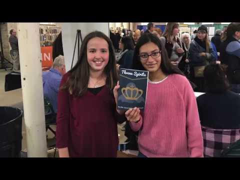 Sigma's Bookshelf at Wayzata Central Middle School - CCX News - February 8, 2019