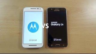 Samsung Galaxy J5 VS Moto G 3rd Gen - Speed & Camera Test!