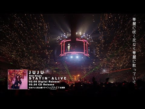 JUJU 『STAYIN' ALIVE』 Lyric Video (short ver.)