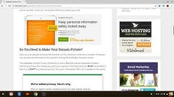 Godaddy Domain Privacy - Is Godaddy Domain Privacy Worth It or Not? Watch This First