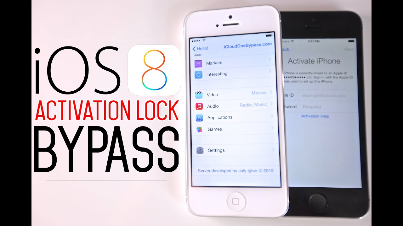 how to bypass icloud activation on iphone 5s how to bypass ios 8 icloud activation lock screen on 8 1 3 7808