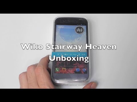 Wiko Stairway Heaven: Unboxing Deutsch