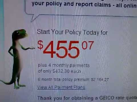Cheap Car Insurance campare: Geico, Progressive and Esurance