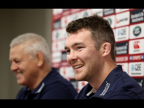 Press Conference: Gatland & O'Mahony excited by familiar combinations | Lions NZ 2017