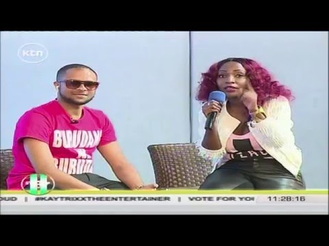 Str8up: Jamal Gaddafi speaks to Dela on her swahili rendition of Hello