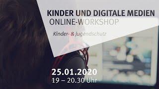 Kinder- und Jugendschutz: Online-Workshop zum Thema Medien (am 15.01.2021 um 12:22)