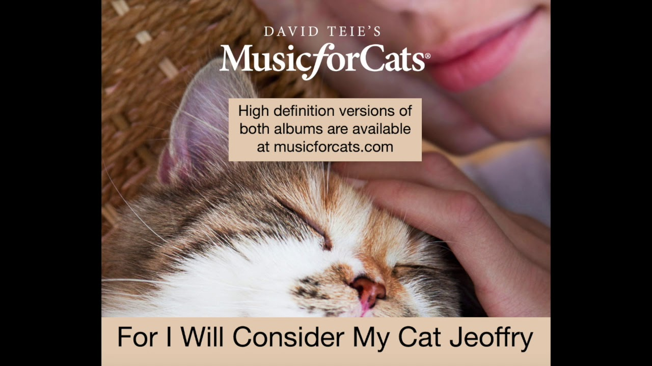 For I Will Consider My Cat Jeoffry Youtube