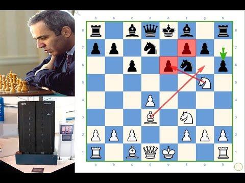 Deep Blue (IBM Computer) Vs Gary Kasparov! 1-0