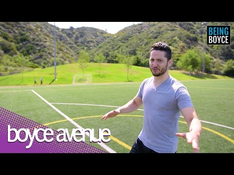 Univision Films Boyce Avenue In Los Angeles #BeingBoyce